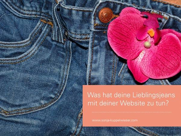 Was hat deine Lieblingsjeans mit deiner Website zu tun?