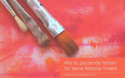 Wie du passende Farben für deine Website findest